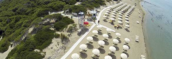 spiaggia di torre san giovanni dall'alto